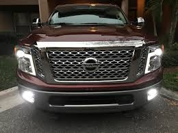 2018 Nissan Titan Led Fog Lights Fog Lights On The Platinum Reserve Led Upgrade Nissan