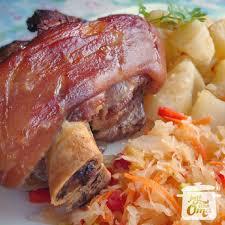 pork hocks and sauer made just