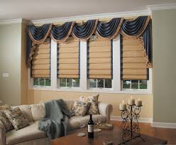 Wood Window Treatments Ideas Living Room Blinds And Curtains Living Room With White Sheer
