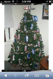 Beer Can Christmas Tree Decorations. Redneck ...