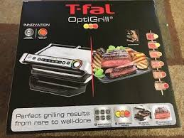 t fal optigrill gc702 stainless steel indoor electric auto grill