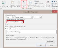 Microsoft Word Update All Fields Microsoft Office Word 2016 Mail Merge Custom Invalid Recipement For