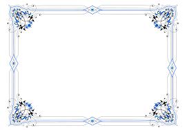 Decorative Borders For Word Similiar Blue Decorative Page Borders Keywords