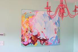 DIY Contemporary Wall Painting | Home Coming for mycraftyspot.com