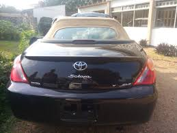 Tokunbo 2007 Toyota Solara (convertible) At #1.850m - Autos - Nigeria