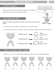 personal hygiene worksheets for kids level 2 personal hygiene sheet 3
