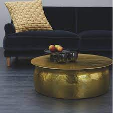 Gold drum coffee table, description: Drum Gold Coffee Tables You Ll Love In 2021 Wayfair
