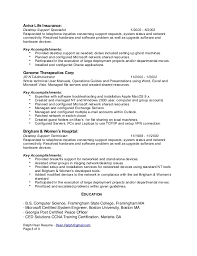 Creative Decoration Technical Support Specialist Resume Technical