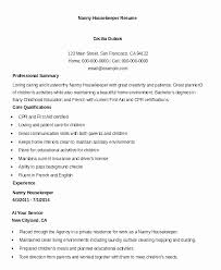 Housekeeping Resume Examples Impressive Housekeeping Resume Examples Samples Awesome Housekeeper Resume