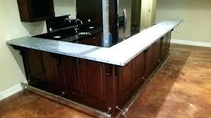 sheet metal kitchen s top bathroom laminate zinc countertops how to make