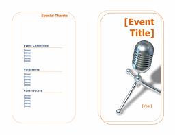 Event Programs Programs Office Com