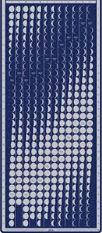 Lunar Chart 2015 How To Use Earthskys Lunar Calendar Science Wire Earthsky