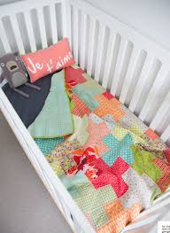 Baby Quilt Size. Kid Quilts Size Of Baby Quilt For Crib. Use This ... & plus quilt tutorial cot size u2013 a free download from for the love of  george Adamdwight.com