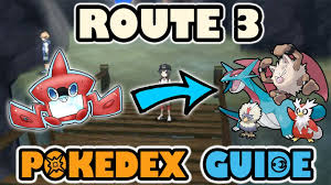 ROUTE 3 COMPLETE POKEDEX GUIDE - Pokemon Sun and Moon - YouTube
