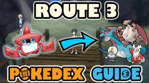 ROUTE 3 COMPLETE POKEDEX GUIDE - Pokemon Sun and Moon - YouTube