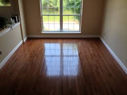 We installed this new Bruce Real Hardwood Floor in Gunstock Oak