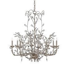 crystal bud chandelier 33w 33h