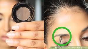 image led hide or fix a shaved off eyebrow step 1