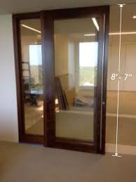 large sliding door commercial