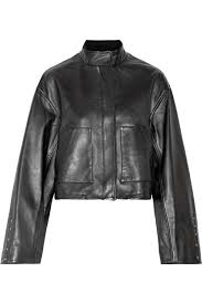 woman beautiful 31 phillip lim cropped leather jacket 97342843