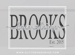 Cricut Name Designs Knockout With Cricut Glitter And Graze