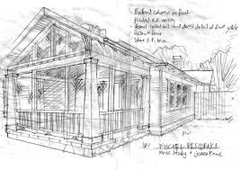 Rough Architectural Sketches