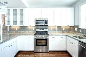 Backsplash Ideas For White Cabinets White Kitchen Cabinets With