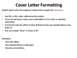should a cover letter be double spaced chula vista should a cover letter be double spaced