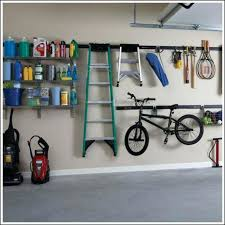 garage organization system vertical ball rack inch fast track vybes