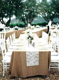 tablecloths for wedding used burlap square round tablecloth whole elegant ch