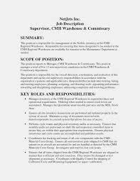 Warehouse Job Description For Resume Warehouse Job Description For Resume Barraques Org