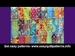 rag quilting made easy basic quilt diy - YouTube & rag quilting made easy basic quilt diy Adamdwight.com