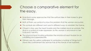 writing a comparison contrast literary analysis 6