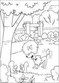 Disegno Di Cleo Gioca In Giardino Da Colorare Disegni Da Colorare