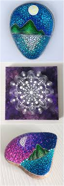 25+ unique Dot painting ideas on Pinterest | Dot art painting, Mandala  painted rocks and Mandala rocks