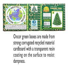 6ft Eco Friendly Oncor Parana Pine Christmas Tree Home