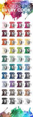 The Colorful World Of Kitchenaid Stand Mixers Kitchenaid
