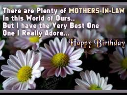 Birthday Quotes For Mom In Law