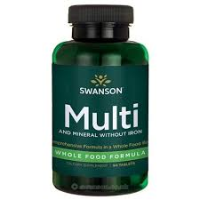 Avis: Swanson Health Products - Multi-vitamines et minéraux Swanson Ultra  Whole Food sans fer, 90 comprimés | Nouvelle-Zélande, Français