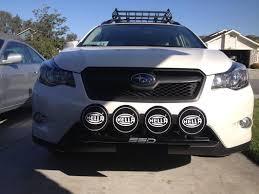 2015 Sti Rally Lights Installed Ssd Performance Rally Light Bar Hella 500 Black