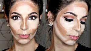 how to cream contour highlight s