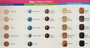 Virginia Era Color Charts