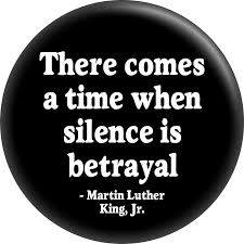 Martin Luther King Jr There Comes A Time When Silence Is Betrayal 15 Round Button