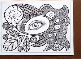 Zentangle Pattern Ideas Best Free Printable Zentangle Coloring Pages For Adults