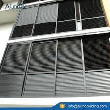 Alen Brand Factory Price Hot Sale Aluminum Exterior Louver Aluminum Louvered Exterior Doors