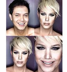 this guy can turn himself into any celebrity by using makeup jennifer lawrence