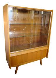 Hutch Display Cabinet Vintage Max Bohme Mid Century Modern Hutch Display Cabinet Chairish