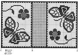Filet Crochet Fish Patterns