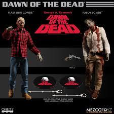 Mezco Toyz 1/12 Dawn of the Dead - Plaid Shirt Zombie & Flyboy Zombie -  AcareToys จำหน่าย ของเล่น โมเดล ชุดผ้า Hot Toys,Bandai  และแบรนด์ชั้นนำอีกมากมาย : Inspired by LnwShop.com