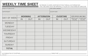 weekly time card 250 time sheets handwritten weekly m s 800 858 7462